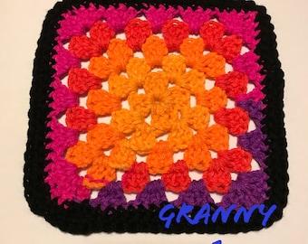 Granny Square 1-10
