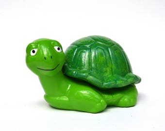 Ceramic Turtle Trinket Box