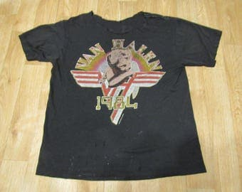 Vintage Van Halen 1984 Cherub Baby tour shirt medium