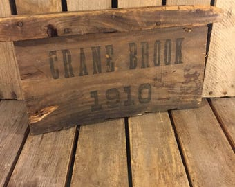 Crane Brook Crate Side
