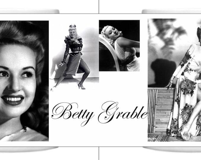 Betty Grable Mug a perfect gift
