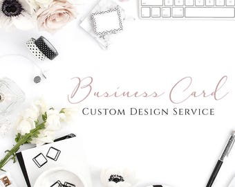 Custom Business Card Design, Personalised Business Card Design, Professional Design, Custom Graphic Design, Front and Back Calling Card