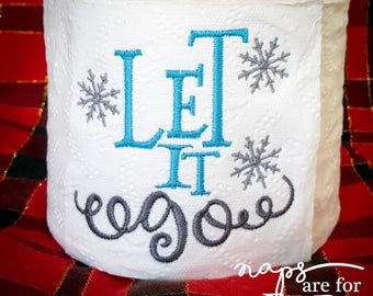 Christmas Novelty Toilet Paper - Let it Go