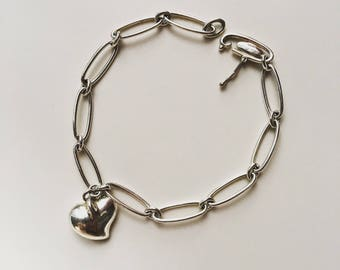 Authentic Rare Tiffany&Co Silver925 Paloma Picasso bracelet with box
