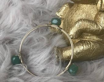 Jade Cuff Gold