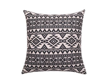 Aztec throw pillow covers Navajo decorative pillow cover Geometric pillow case Tribal cushion cover Sofa home decor housewarming gift 18x18