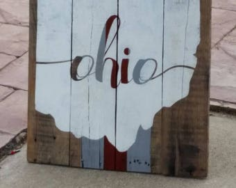Ohio - Home - Pallet Sign