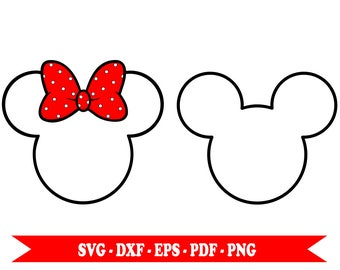 mickey mouse outline svg etsy Mickey Mouse Outline Clip Art Baby Mickey Mouse Clip Art