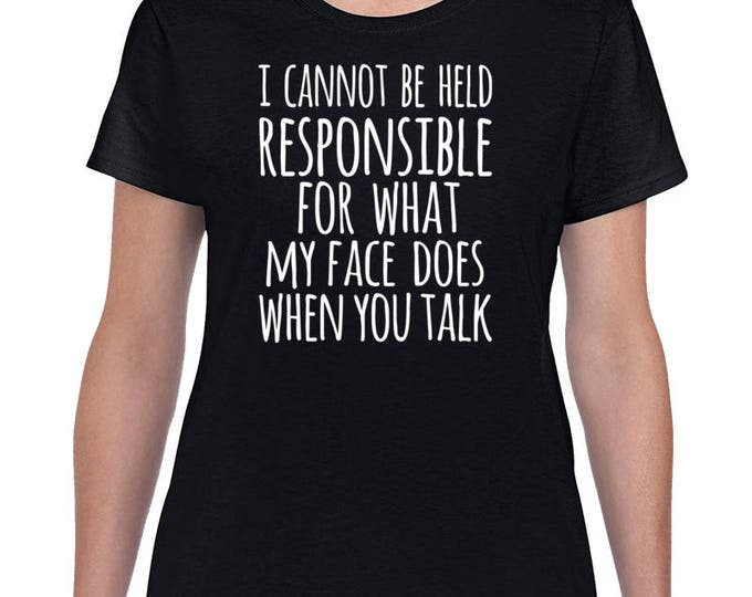 Featured listing image: Funny Sarcasm T Shirt, Funny Tshirt,Sarcastic Tshirt,Sarcasm Shirt,Sarcastic Shirt, Sarcasm Shirt, I Speak Fluent Sarcasm,  Attitude Shirt