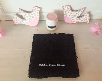 Strapless, lined, crochet top tutu, 7/10 years
