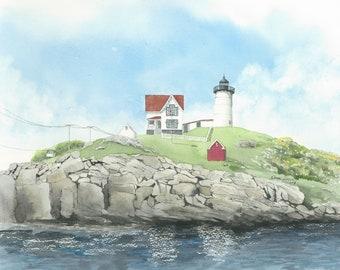 Nubble Head Light -Maine