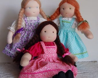 Custom Order Waldorf Doll, SpecialOrder Waldorf Doll, Build Your Own 11-1/2 Inch Waldorf Doll