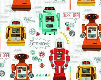 Makower -  Galaxy - Robots Design