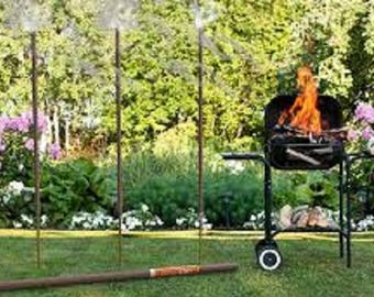 Outdoor Garden Incense Sage All-natural Giant 5 foot 4 or 3 foot tall with the Giant 5 foot up to 14 hour burn