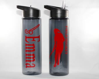 Personalized Field Hockey Water Bottle