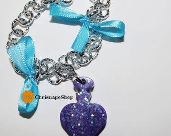 Resin bracelet ' potion ' (3 different pieces)