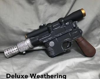 DL-44 Han Solo's Blaster Movie Prop