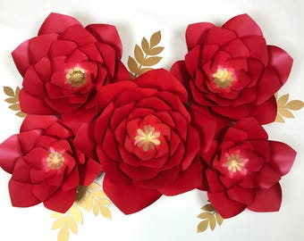 Paper flowers, photobooth, backdrop, wedding decor, 3d flowers, baby shower, bridal shower, nursery decor, flower wall, party backdrop