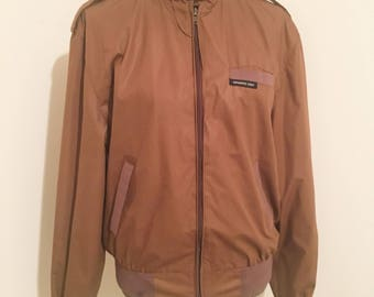 """Members Only chestnut brown jacket in size 40! """"Like new"""" comdition!"""