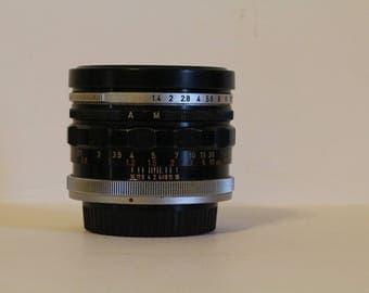 Canon lens FL 50mm 1:1.4