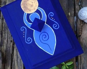 "Jewelry box ""Moon Goddess"""