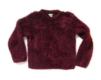 Fuzzy pullover | Etsy