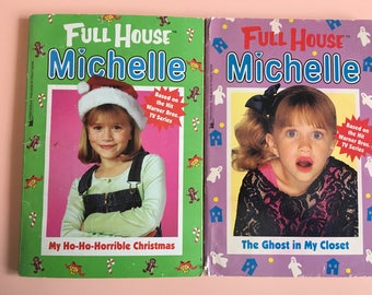 90's Full House Michelle Tanner & Sisters series chapter books - TV show book tie-ins - Fuller House - The Olsen Twins - Stephanie Tanner