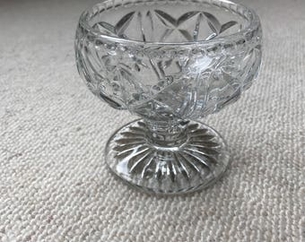 Champagne Coupe Sorbet Bowl-Gorgeous, old time vintage chic