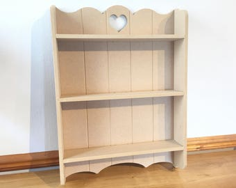 Shabby Chic Wall Unit Kitchen Shelf Cupboard Cabinet French Vintage Style