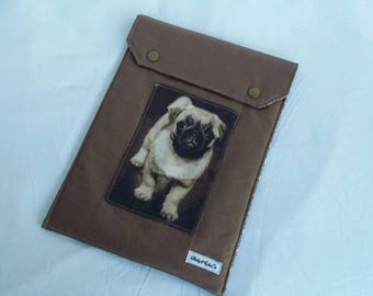 Pug Ipad Case / Pug Ipad Sleeve / Pug Ipad Accessories / Electronic Accessories / Tablet Sleeve / Ipad Sleeve / Ipad Accessories