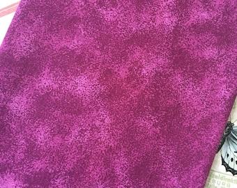 Cotton Fabric Plum Print Fabric Cotton Quilt Fabric - Craft Fabric 1/2 Yard Cotton - Cotton Fabric Remnant - Fabric Scraps - Benarter, Inc