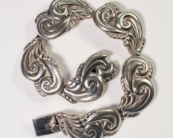 Bernice Goodspeed Mexican Silver Bracelet