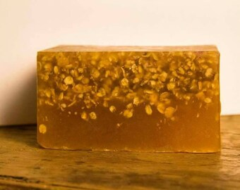 Honey and Oatmeal handmade cruelty free soap