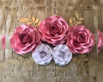 5 Rose Set