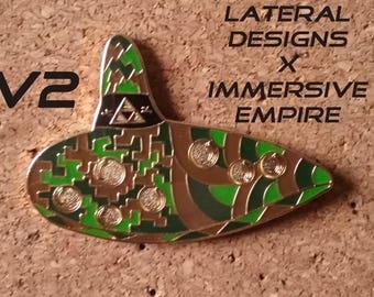 Zelda Ocarina Pin