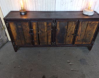 industrial style buffet Cabinet