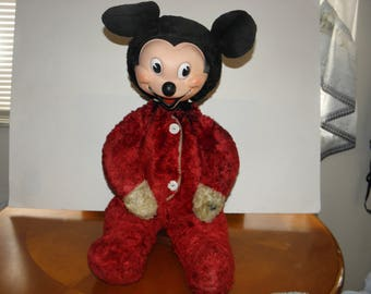 Mickey Mouse 22inch Plush and Vinyl Toy