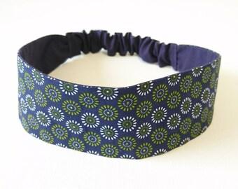 Headband, headband, cotton headband reversible elastic woman