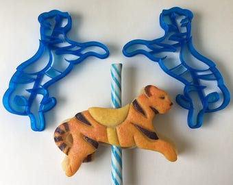 Carousel Tiger Cookie Cutter Set