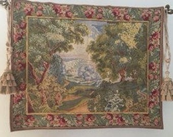 French Pointe des Meurins Tapestry