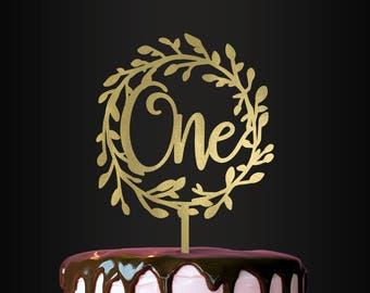 Cake Topper, Turning One Cake Topper, First Birthday Cake Topper, Smash Cake Topper, Birthday Cake Topper, Kids Birthday Decor, Photo Prop