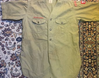 1930s Boy Scouts of America button-up