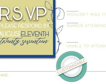 Garden RSVP Card