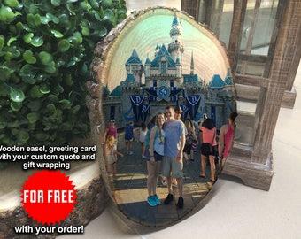 Personalized Boyfriend Gift, Photo On Wood, Personalized Grandparent Gifts, Personalized Home Decor, Personalized Couple, Personalized Map