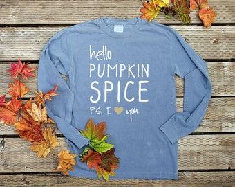 Pumpkin Spice Shirt Fall Shirts Women Pumpkin Spice Is My Favorite Season Thanksgiving Shirts Autumn Shirt Women Cute Shirt Pumpkin
