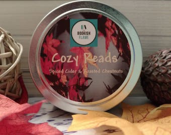 Cozy Reads 4 oz Soy Candle