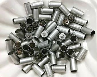 9mm Luger Aluminum Casings, 9mm Bullet Shells, 9mm Bullet Cases, Great for Bracelets, Earrings, Necklaces, Wedding Table Decor, Crafts