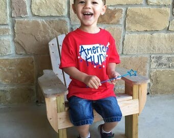 Boy 4th of July American Hunk Shirt, Toddler Boy 4th of July Shirt, 4th of July Shirt, Fourth of July Shirt, Boy 4th of July Shirt, Kids 4th