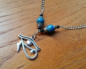 The Eye of Horus Necklace.