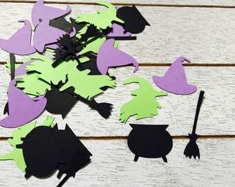 Witch Confetti/ halloween Confetti